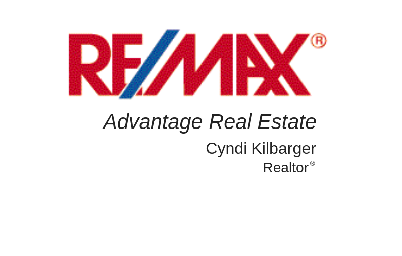 RE/MAX- Cyndi Kilbarger
