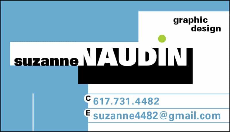Suzanne Naudin Graphic Design